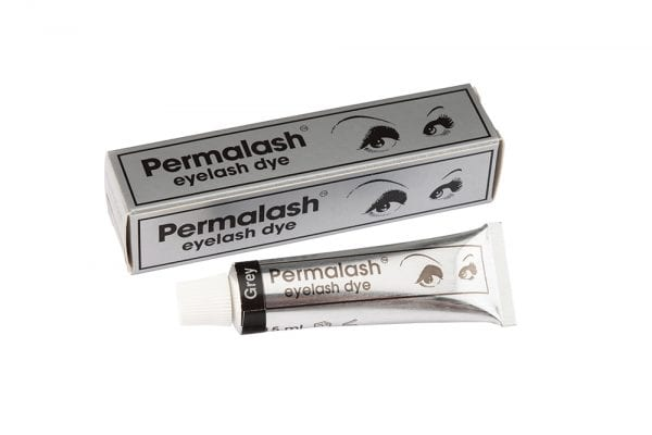 Permalash Eyelash and Brow Dye - Grey Brow and Eyelash Dye