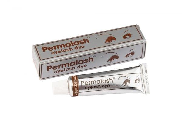 Permalash Eyelash and Brow Dye - Light Brown Brow and Eyelash Dye